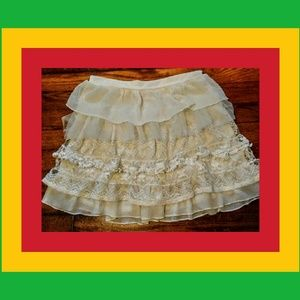 Dresses & Skirts - NEVER HAVE ENUFF RUFFLES OR LACE